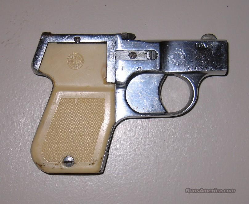 EIG 4-shot .22 cal derringer. Very unusual gun made in Italy  Guns > Pistols > Derringer Modern