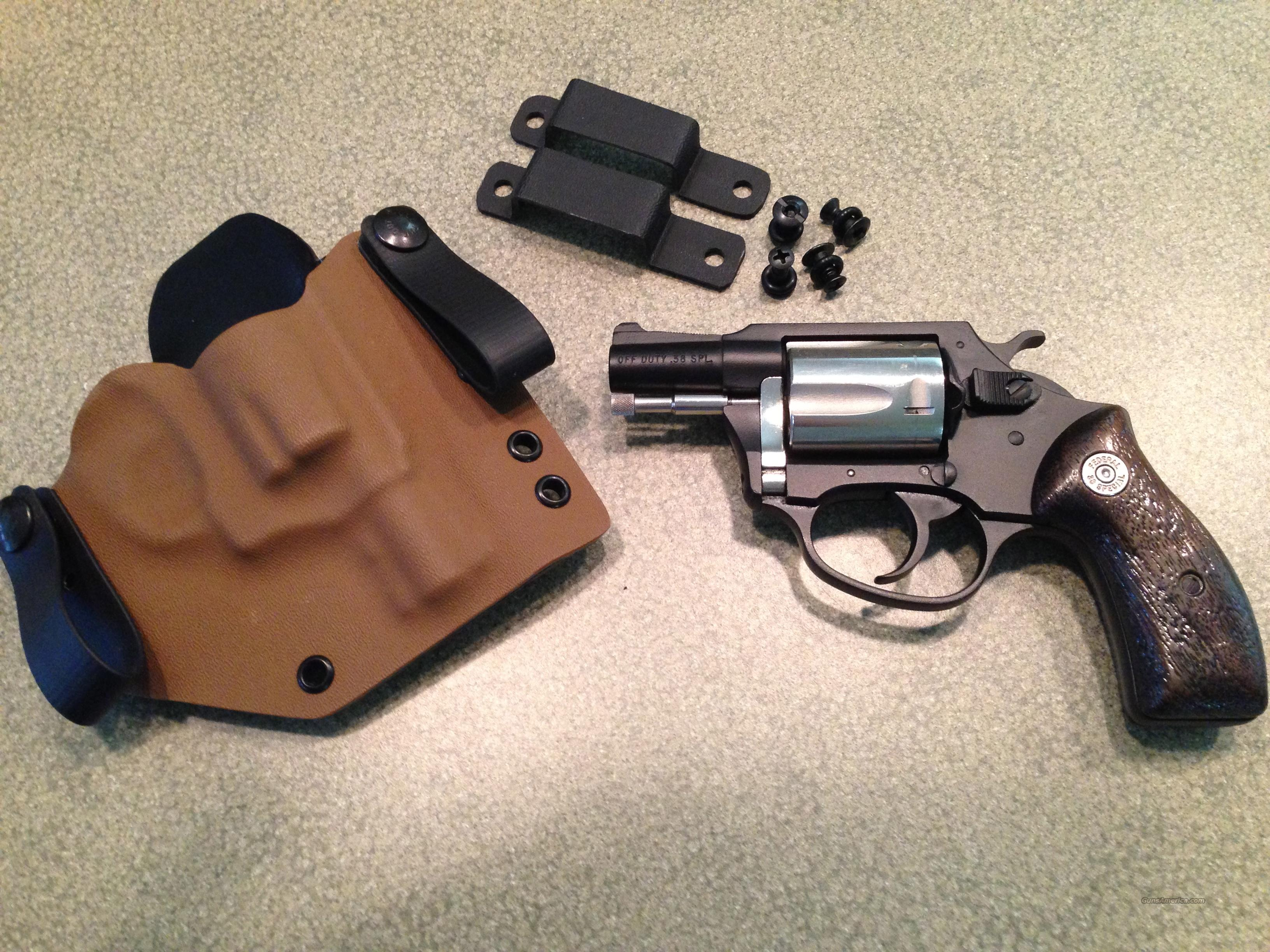 Charter Arms Off Duty 38 Special  with Kydex Holster  Guns > Pistols > Charter Arms Revolvers
