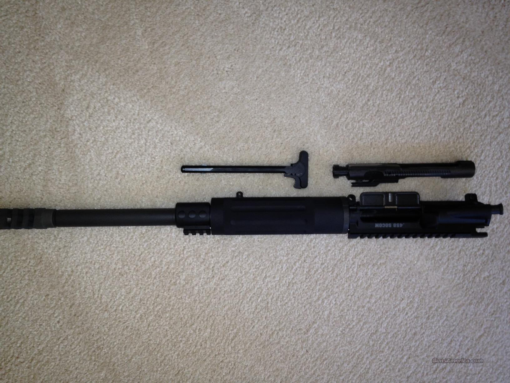 Rock River Arms .458 Socom Upper with Muzzle Brake  Guns > Rifles > AR-15 Rifles - Small Manufacturers > Lower Only