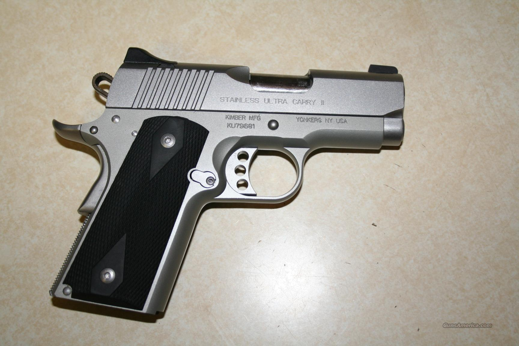 Kimber Ultra Carry II with Night Sights  Guns > Pistols > Kimber of America Pistols
