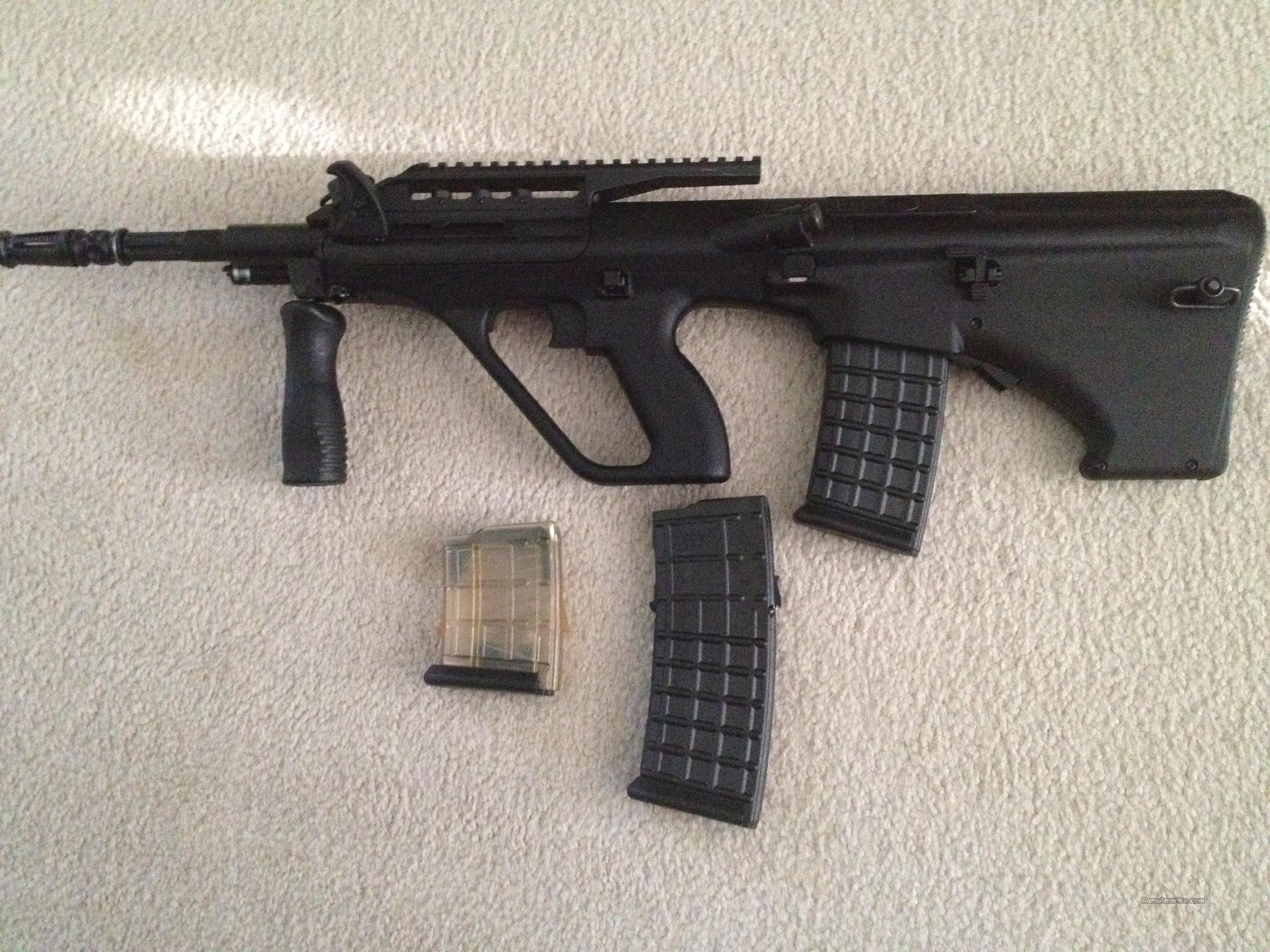 Like New MSAR STG-556 Tactical .223 3 Mags  Guns > Rifles > Steyr Rifles