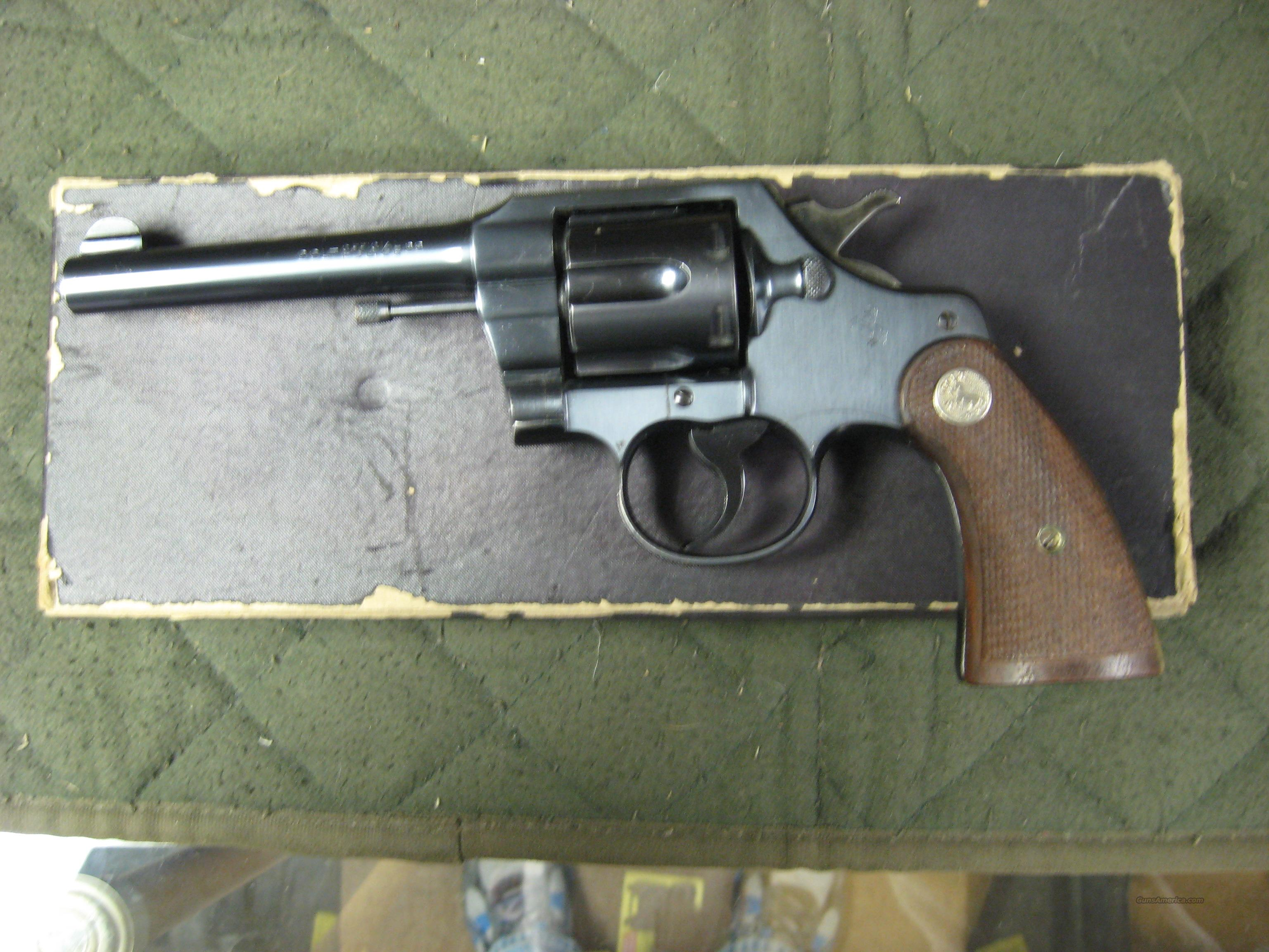 Colt Official Police - Mfg 1942   Guns > Pistols > Colt Double Action Revolvers- Pre-1945