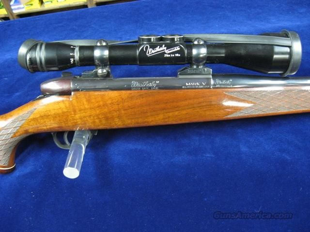 Weatherby MarkV - LEFT HAND - German  Guns > Rifles > Weatherby Rifles > Sporting