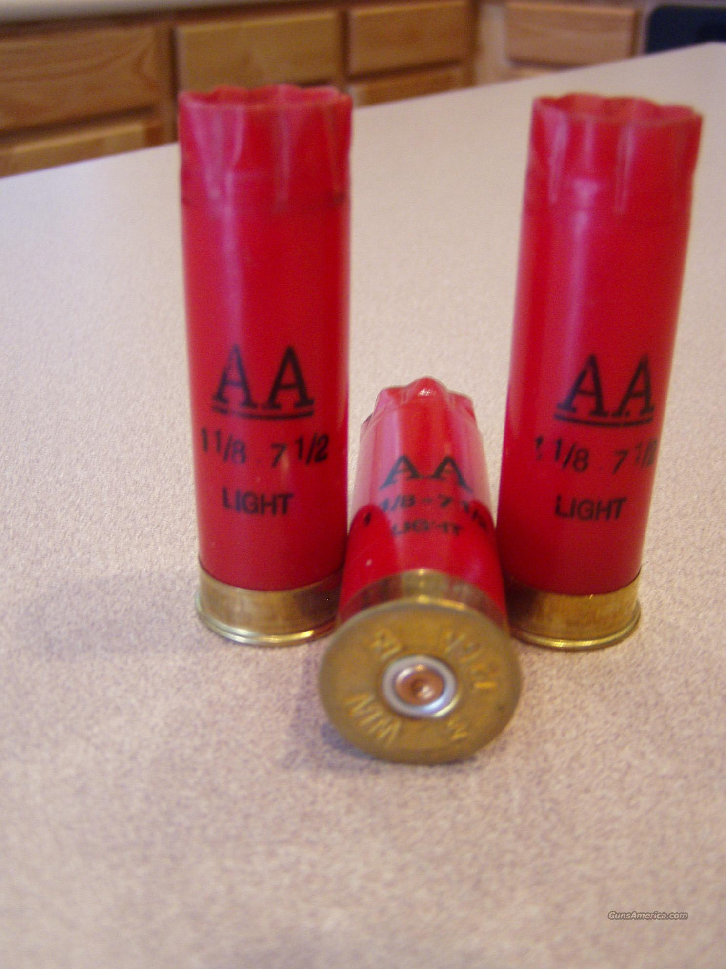 RED WINCHESTER AA HULLS  Non-Guns > Reloading > Components > Shotshell