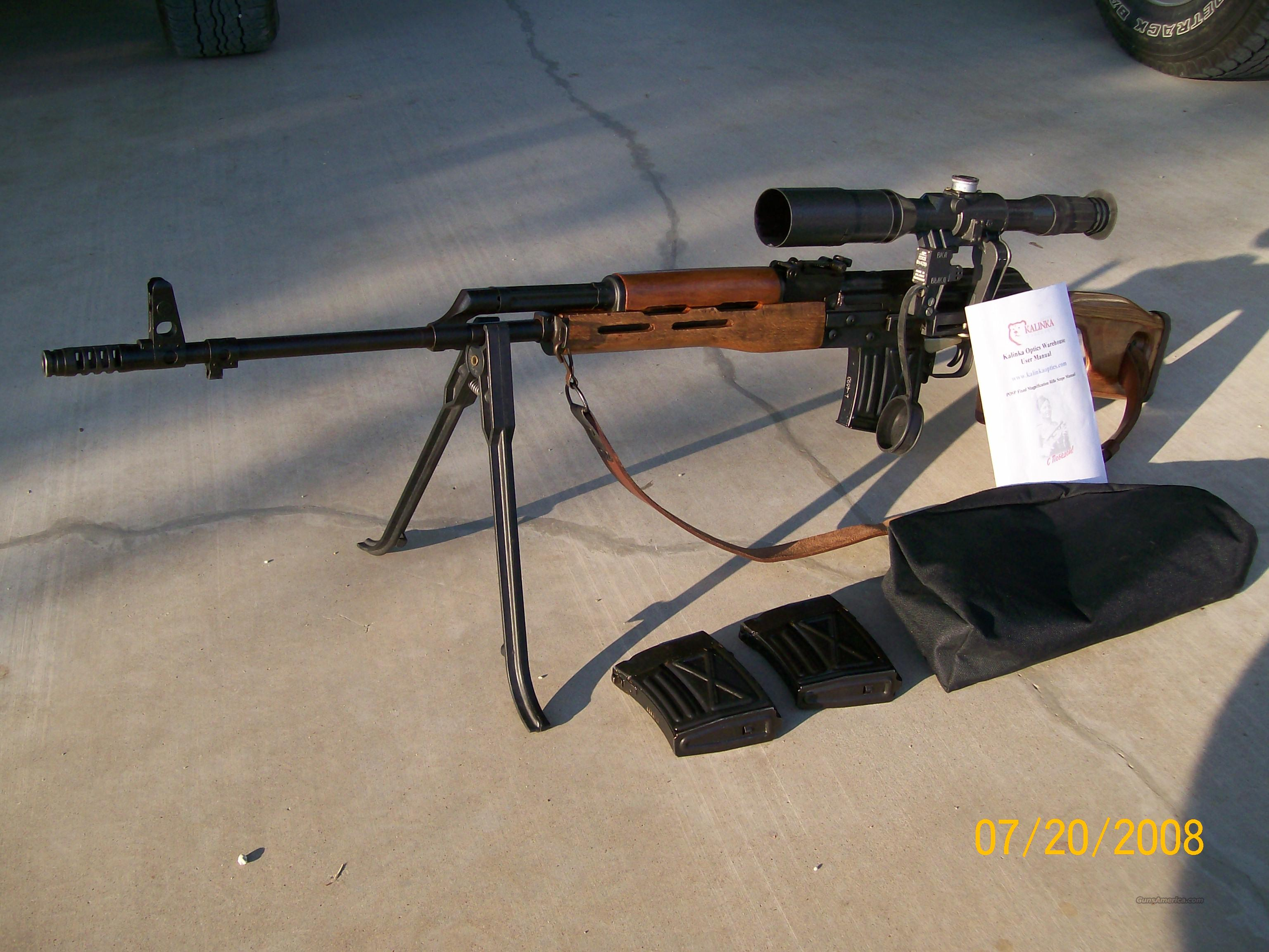 Romanian PSL Dragunov Sniper  Guns > Rifles > Tactical/Sniper Rifles