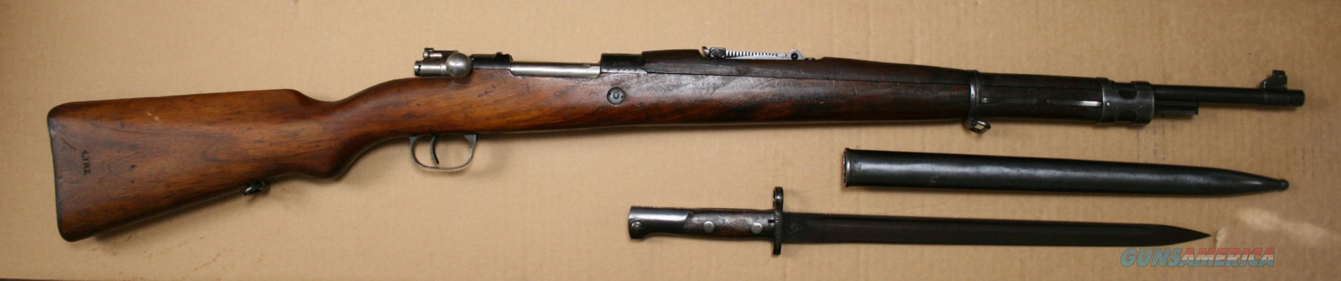 Yugoslavian M24/47 Mauser Straight Bolt Cal. 8 mm Rifle w/Bayonet  Guns > Rifles > Zastava Arms