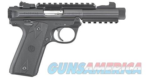 "Ruger 40149 Mark IV Tactical DA 22 LR 4.4"" TB Black Oxide  Guns > Pistols > Ruger Semi-Auto Pistols > Mark I/II/III/IV Family"