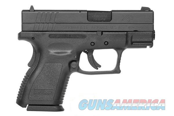 SPRINGFIELD XD9801HC XD9 mm Sub-Compact w/Essentials Package  Guns > Pistols > Smith & Wesson Pistols - Autos > Polymer Frame