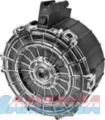 Pro Mag SAI-A9 Saiga .410 Ga 30rd Drum Black Polymer  Non-Guns > Magazines & Clips > Rifle Magazines > AK Family