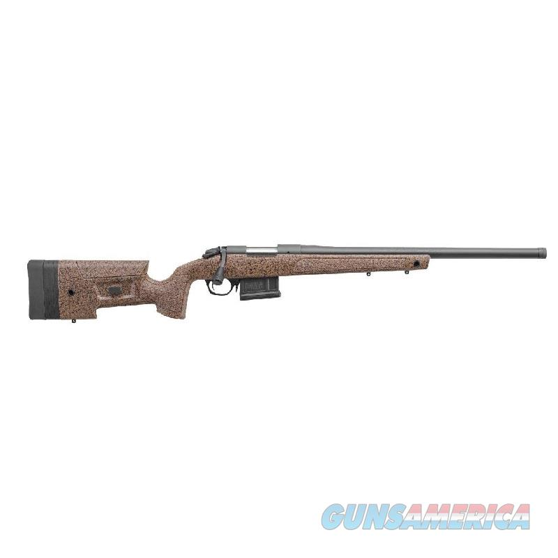 "Bergara B14S351 B-14 HMR Bolt 308 Win. / 7.62 NATO 20"" 5+1 Synthetic/Mini-Chassis Brown Stock Blued  Guns > Rifles > Barrett Rifles"