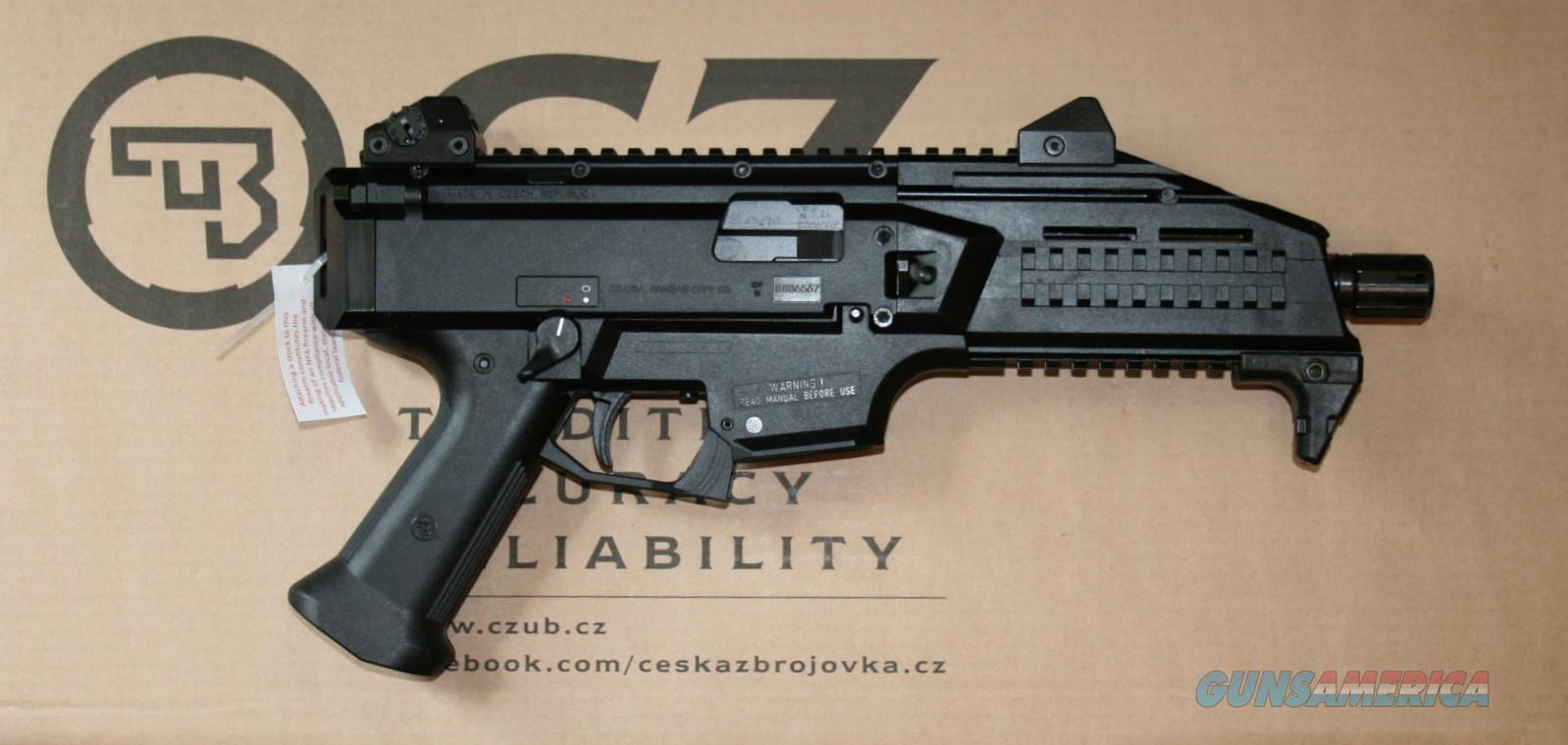 CZ 91350 Scorpion EVO3 S1 9mm 20rd Black  Guns > Pistols > CZ Pistols