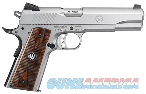 "Ruger SR1911 45 ACP 5"" 8+1 Low-Glare Stainless  Guns > Pistols > Ruger Semi-Auto Pistols > LC9"