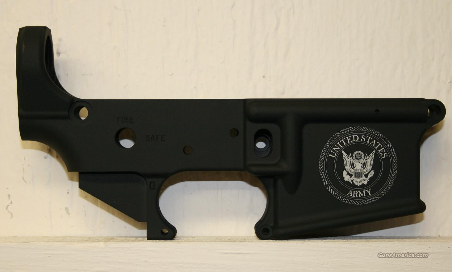 DPMS US Army Engraved AR15 Lower Receiver Stripped  Guns > Rifles > DPMS - Panther Arms > Lower Only