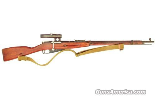 Russian Sniper Mosin Nagant 91/30 Rifle 7.62x54 Cal.  Guns > Rifles > Mosin-Nagant Rifles/Carbines