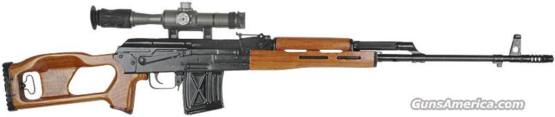 FPK Dragunovs Sniper Rifle 7.62X54R  Guns > Rifles > AK-47 Rifles (and copies) > Full Stock