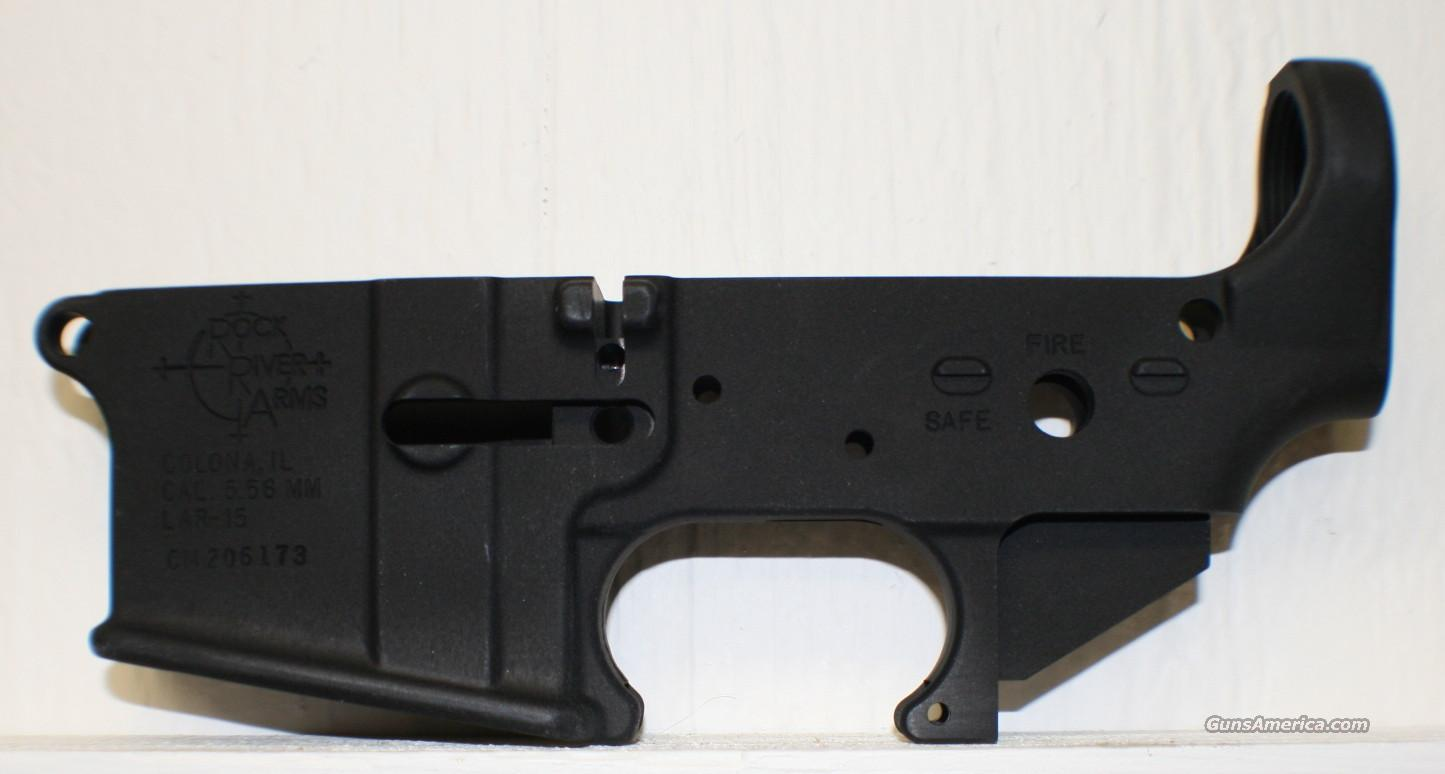 RRA LAR-15 Forged Lower Receiver, stripped   Guns > Rifles > Rock River Arms Rifles