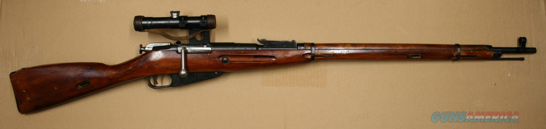 Russian Izhevskt M91/30 PU 7.62x54R Sniper Rifle  Guns > Rifles > Mosin-Nagant Rifles/Carbines