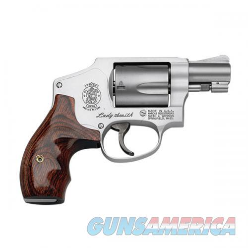 "Smith & Wesson 163808 642 LadySmith DA 38 Special 1.875"" 5 Rds Wood Grip Stainless  Guns > Pistols > Smith & Wesson Revolvers > Small Frame ( J )"