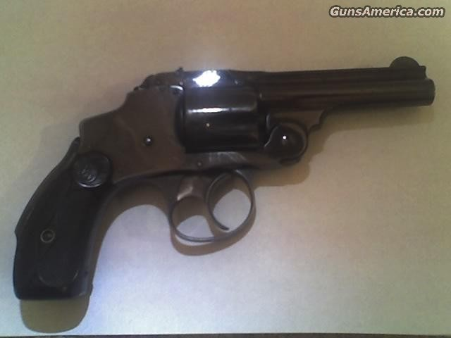 S & W Safety 38 2nd model  Guns > Pistols > Smith & Wesson Revolvers > Pre-1899