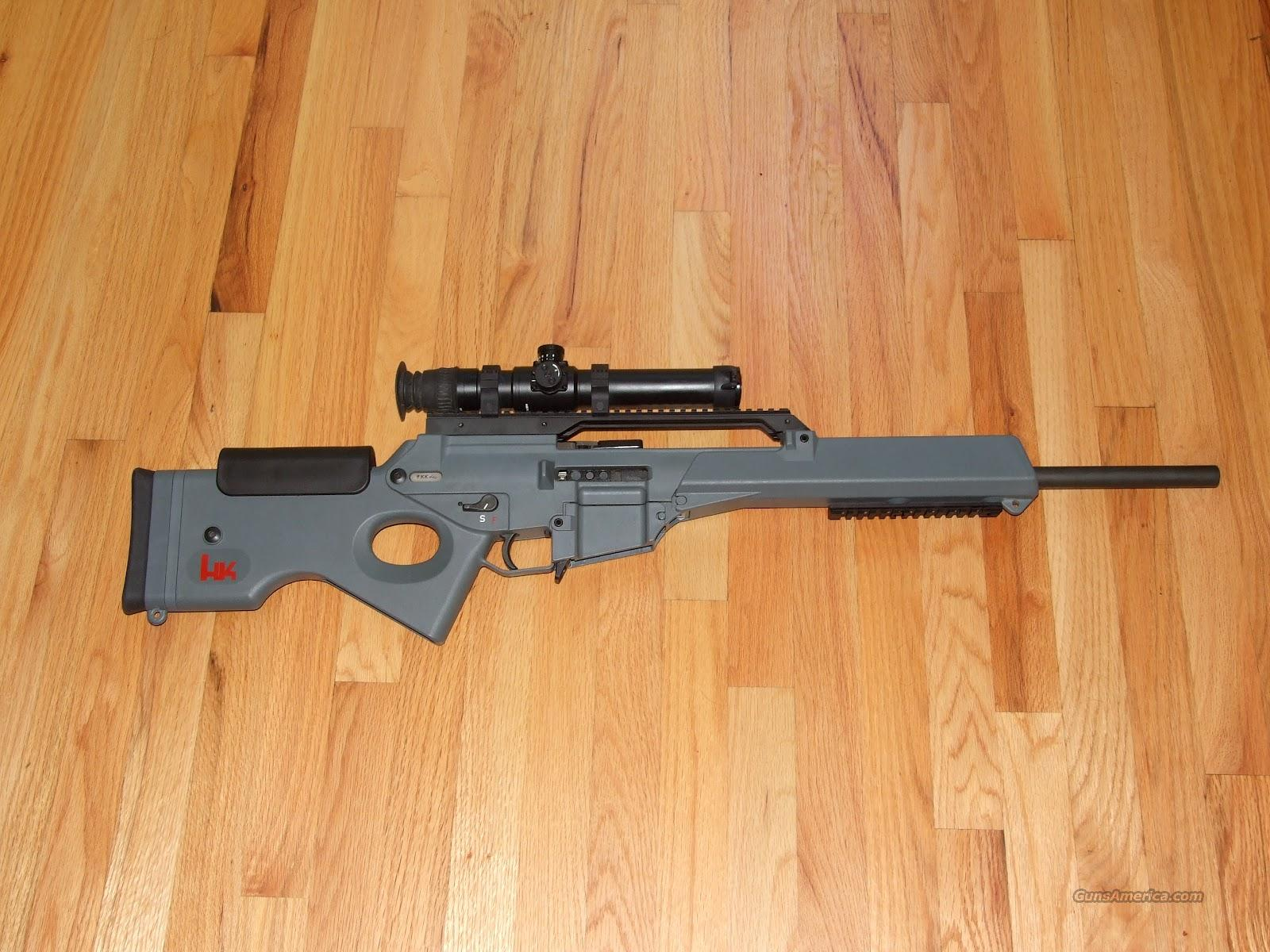 HK SL8-1 rifle with IOR Scope and Mags  Guns > Rifles > Heckler & Koch Rifles > Tactical