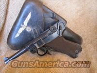 German P08 Mauser Luger 9MM  Production Code  42  Dated 1940    Guns > Pistols > Luger Pistols