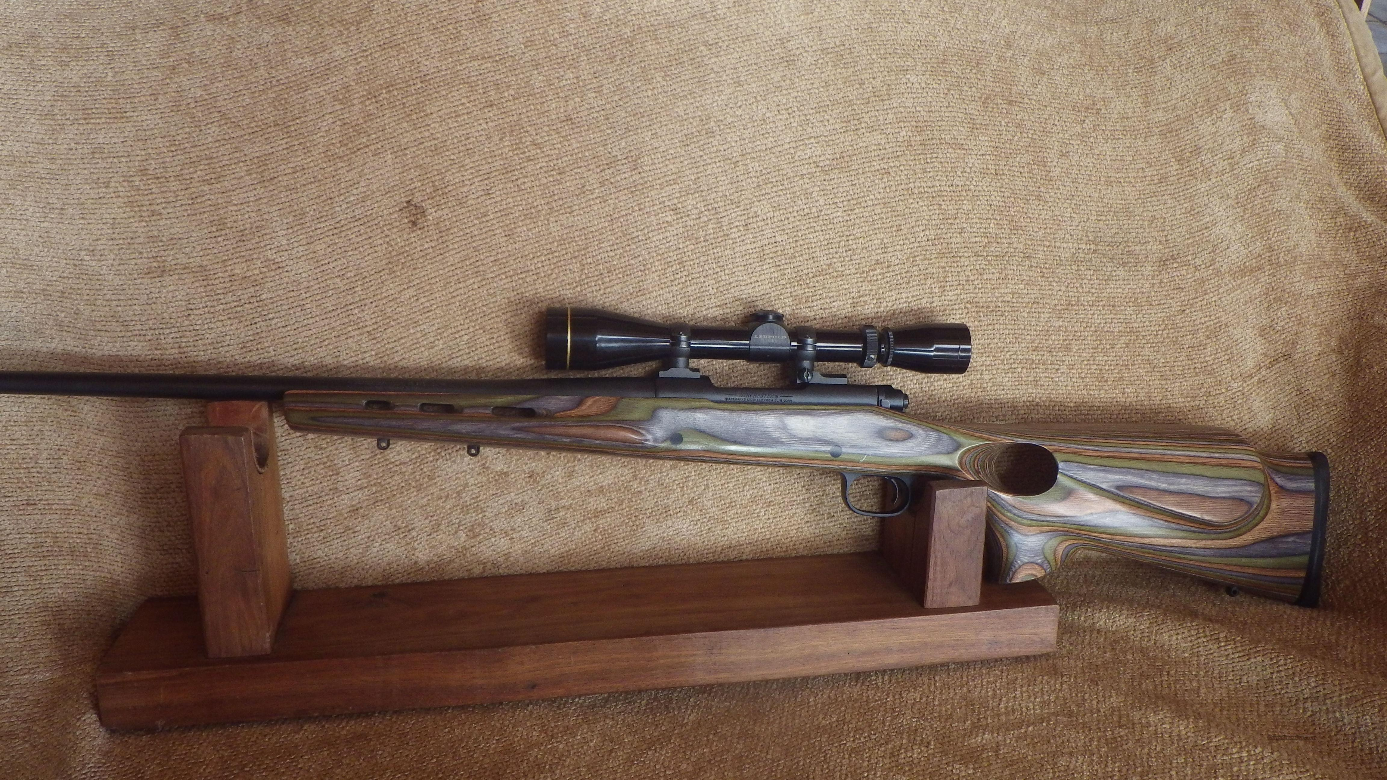Winchester Model 70 Shadow 270 WSM with Boyd Thumbhole Stock and Leupold VariX II 3X9X40 Scope Like New  Includes Lee Dies And 24 Rds new Winchester Brass   Guns > Rifles > Winchester Rifles - Modern Bolt/Auto/Single > Model 70 > Post-64