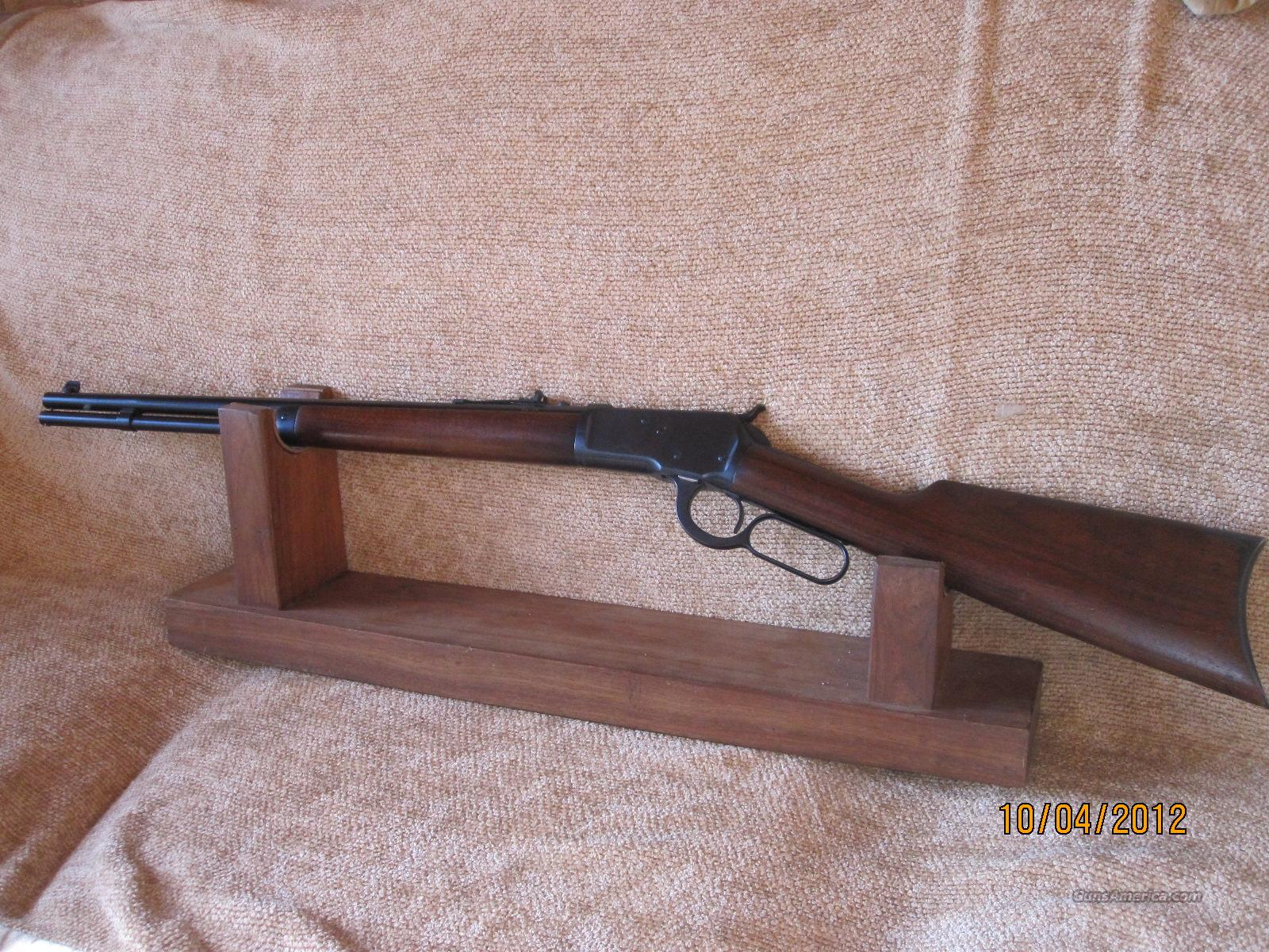 Winchester Model 1892  in 25-20 WCF Reblued Refinished and Rebarreled  Guns > Rifles > Winchester Rifles - Modern Lever > Other Lever > Pre-64