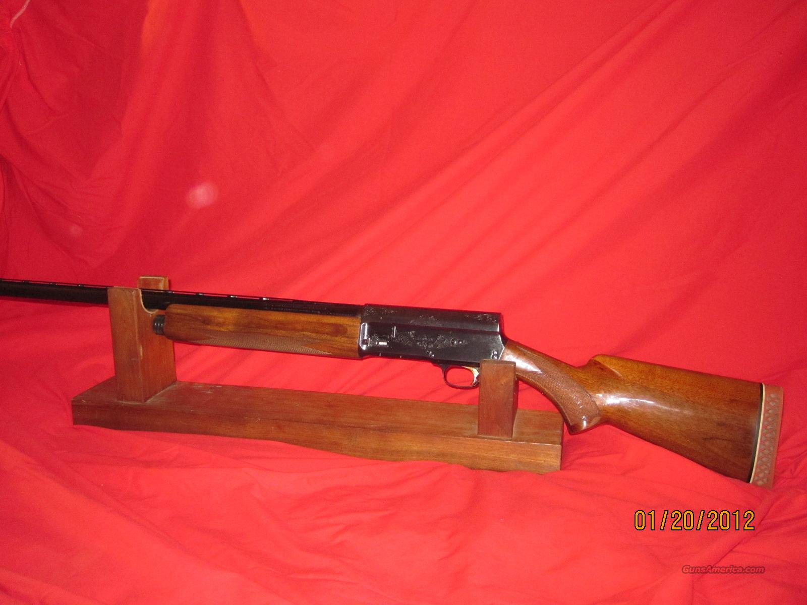 "Browning Belgium A-5 Magnum 1 Of  2000 Manufactured In Belgium between 1976-1985 12 Ga 30"" Full Vent Rib   Guns > Shotguns > Browning Shotguns > Autoloaders > Hunting"