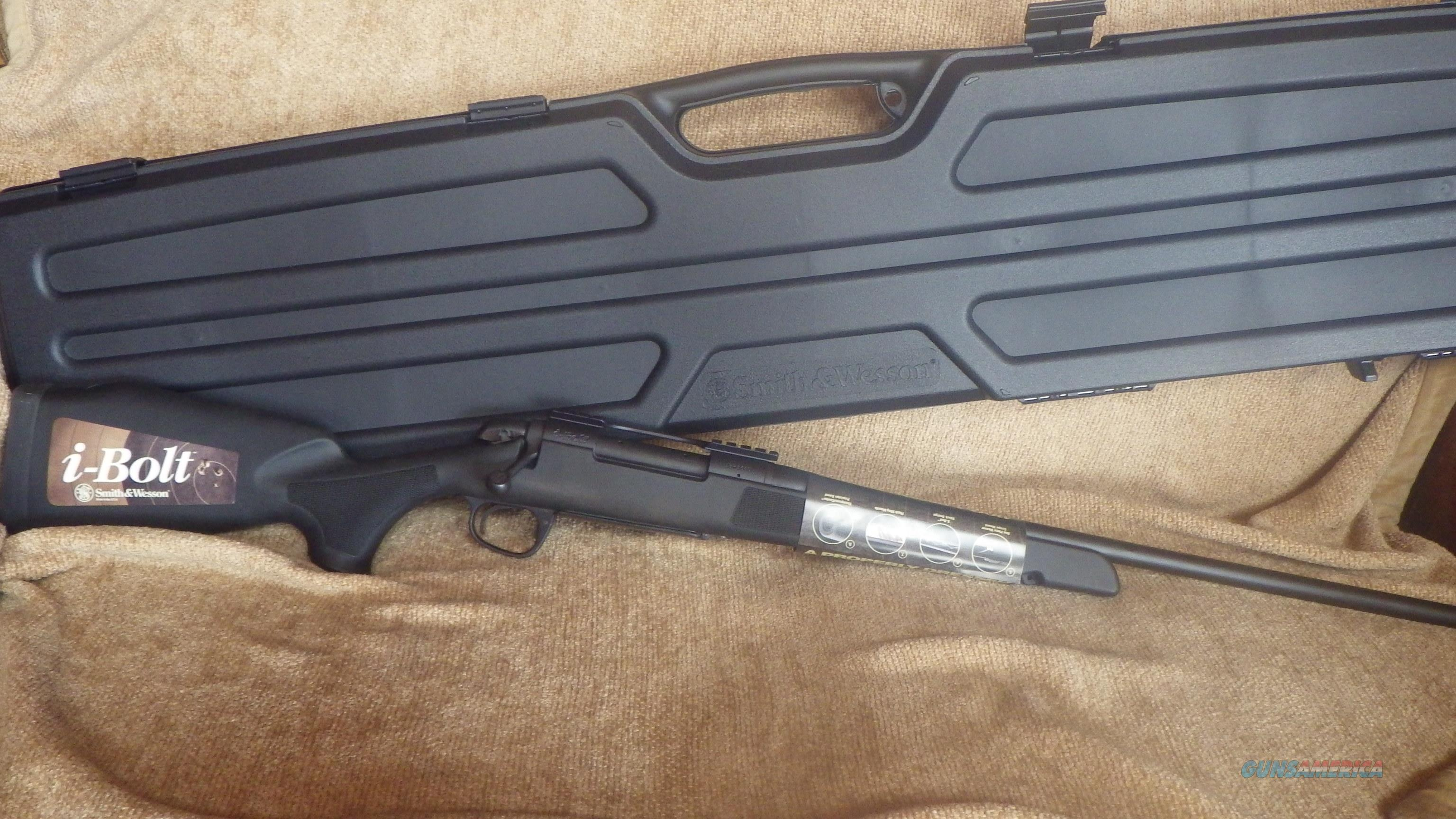 SMITH & WESSON I-BOLT RIFLE 30-06CAL (NIB) with Hard Case   Guns > Rifles > Smith & Wesson Rifles > I-Bolt