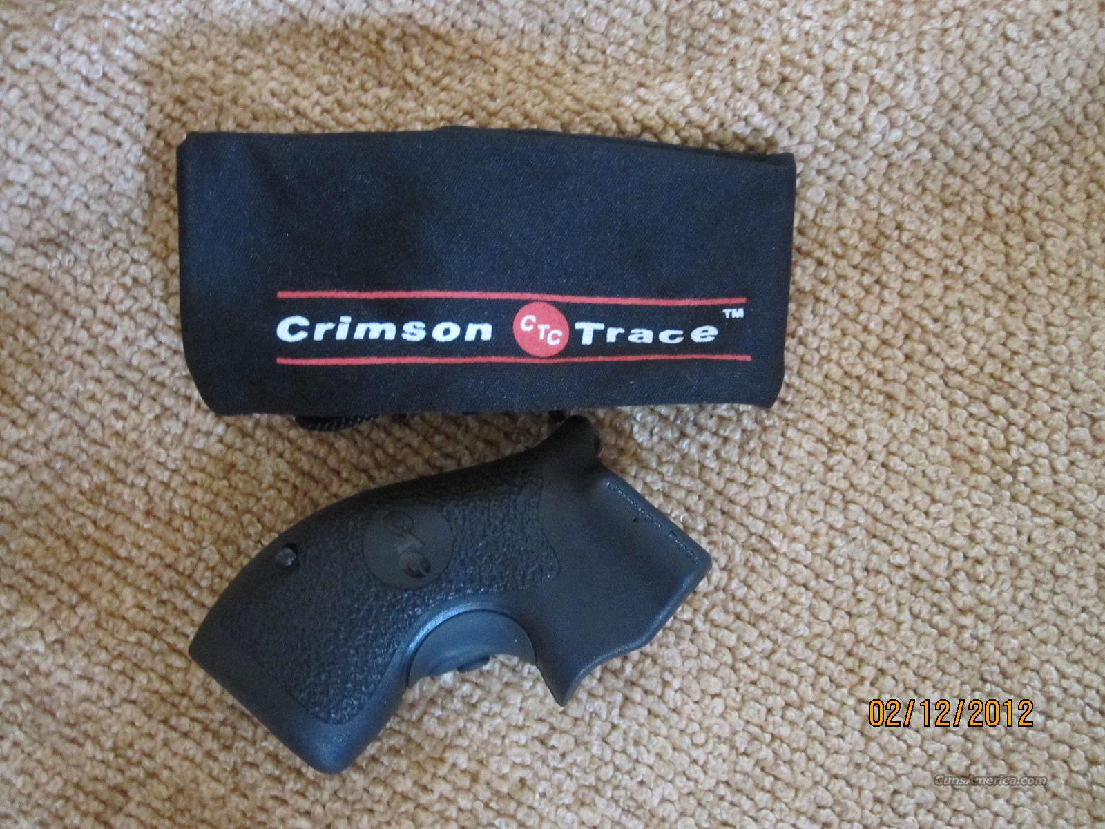 Crimson Trace Laser Grips  For Smith &Wesson Chief Special  Round Butt  Non-Guns > Gunstocks, Grips & Wood