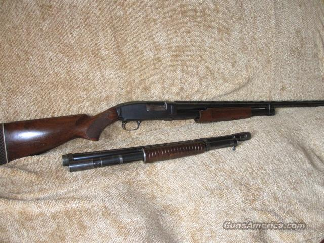 "Winchester Model 12 Serial Number 605199 30 "" Full with Extra Barrel   Guns > Shotguns > Winchester Shotguns - Modern > Pump Action > Hunting"