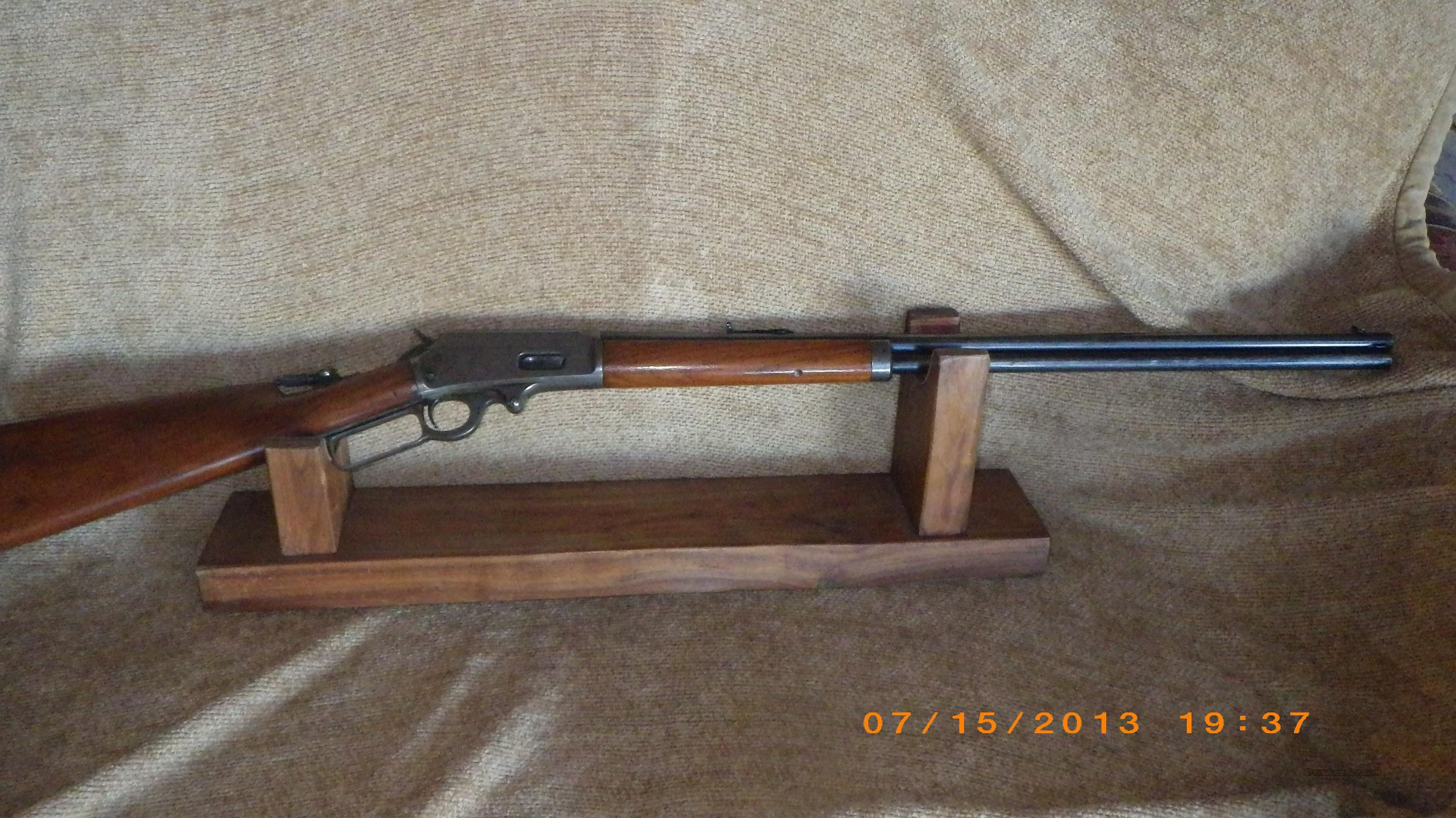Marlin Model 1893 Safety Rifle in 32 Special with Tang Peep Sight   Guns > Rifles > Marlin Rifles > Modern > Lever Action