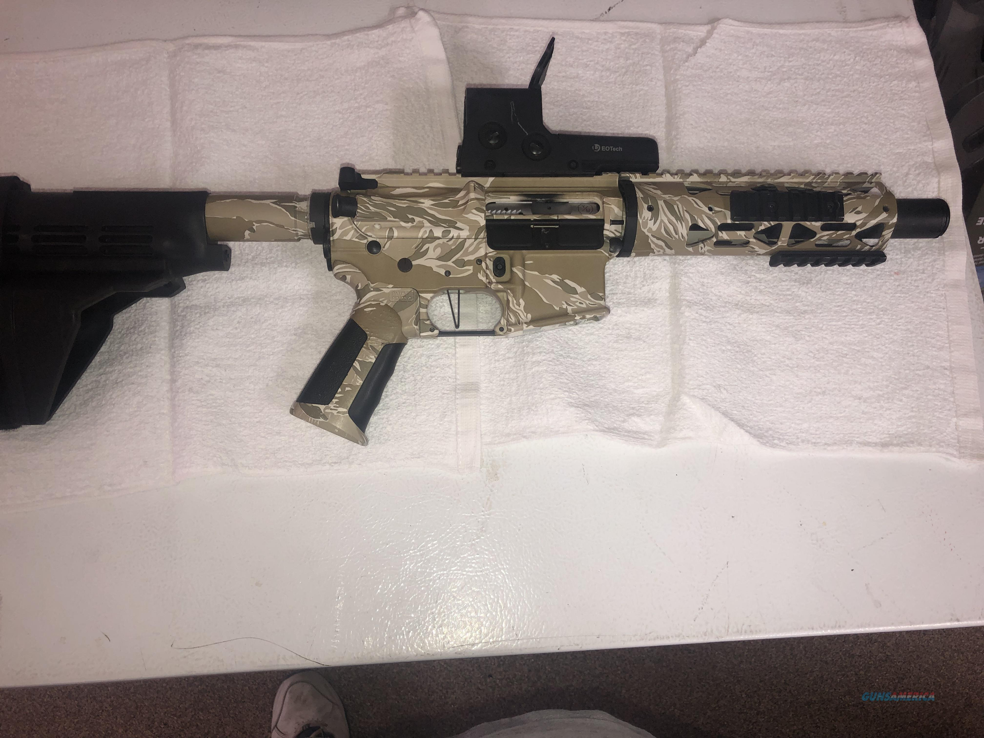Young MFG 556 pistol  Guns > Rifles > XYZ Misc Rifles