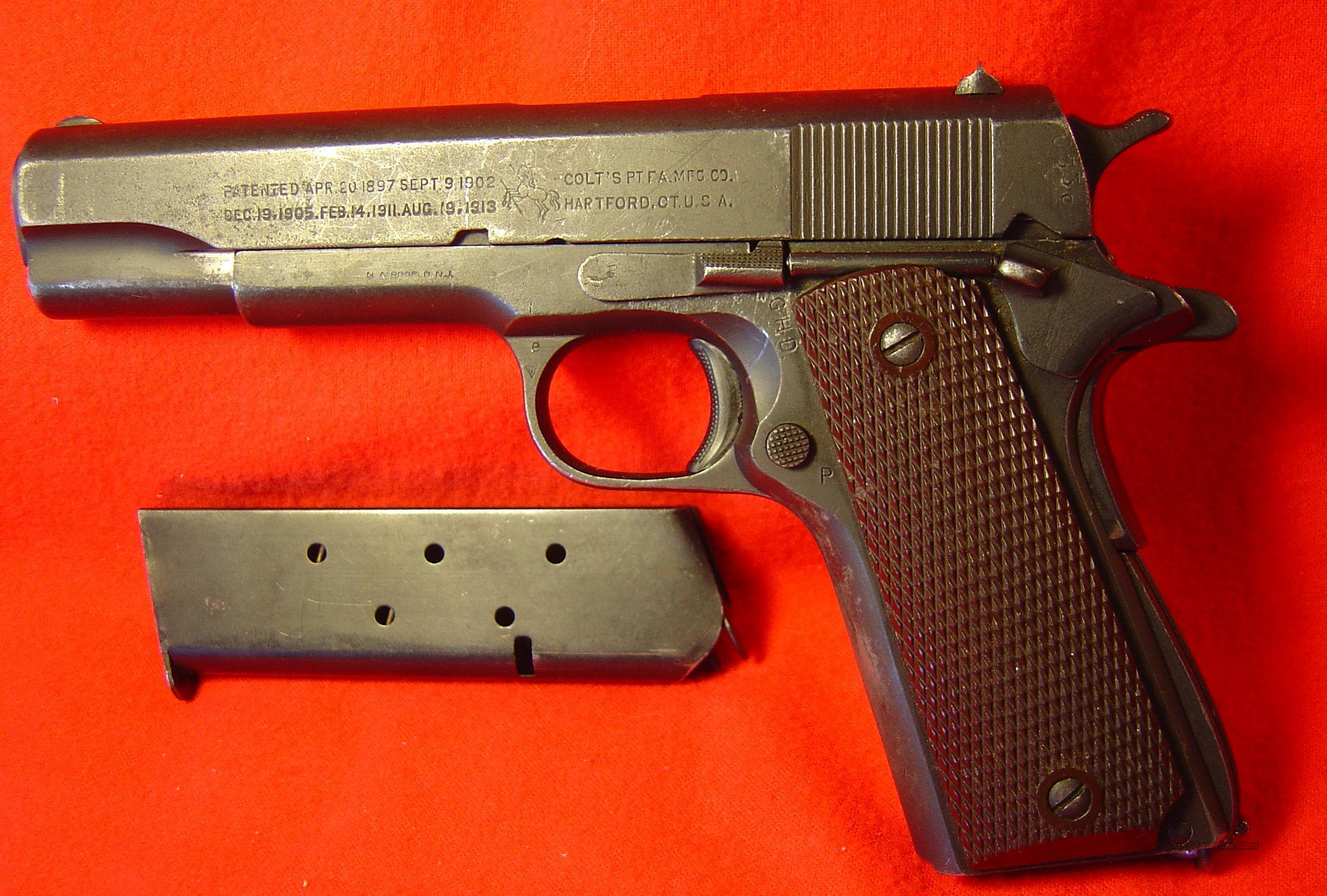 Colt 1911-A1 .45 Caliber Automatic Pistol for sale