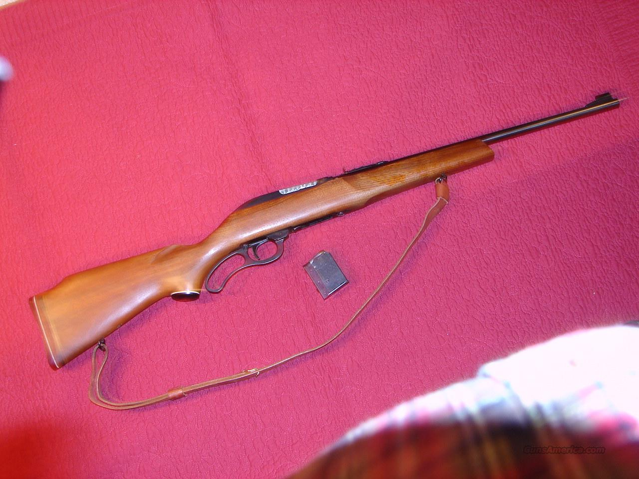 levermatic, model 62  Guns > Rifles > Marlin Rifles > Modern > Lever Action