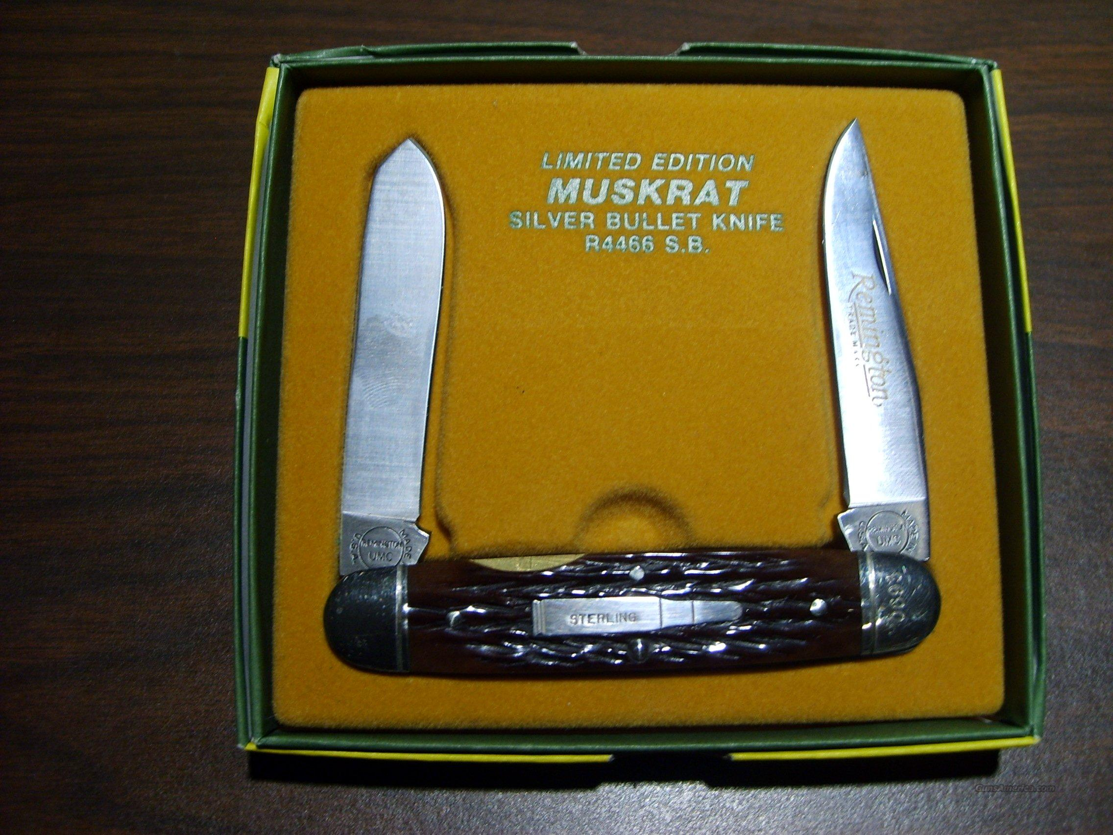 Remington Muskrat  Non-Guns > Knives/Swords > Knives > Folding Blade > Hand Made