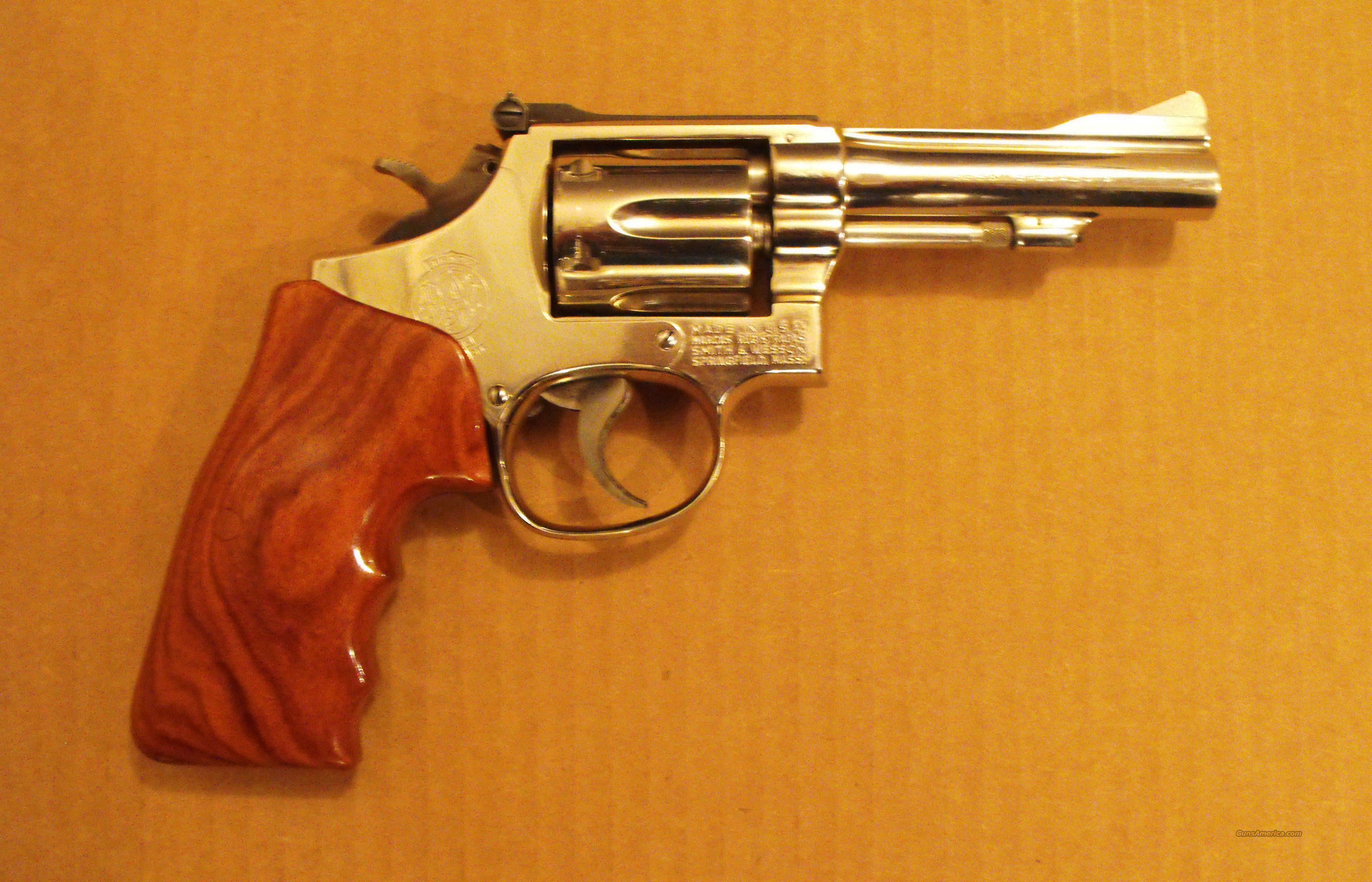 S&W Model 15-4 .38 Special  Guns > Pistols > Smith & Wesson Revolvers > Full Frame Revolver