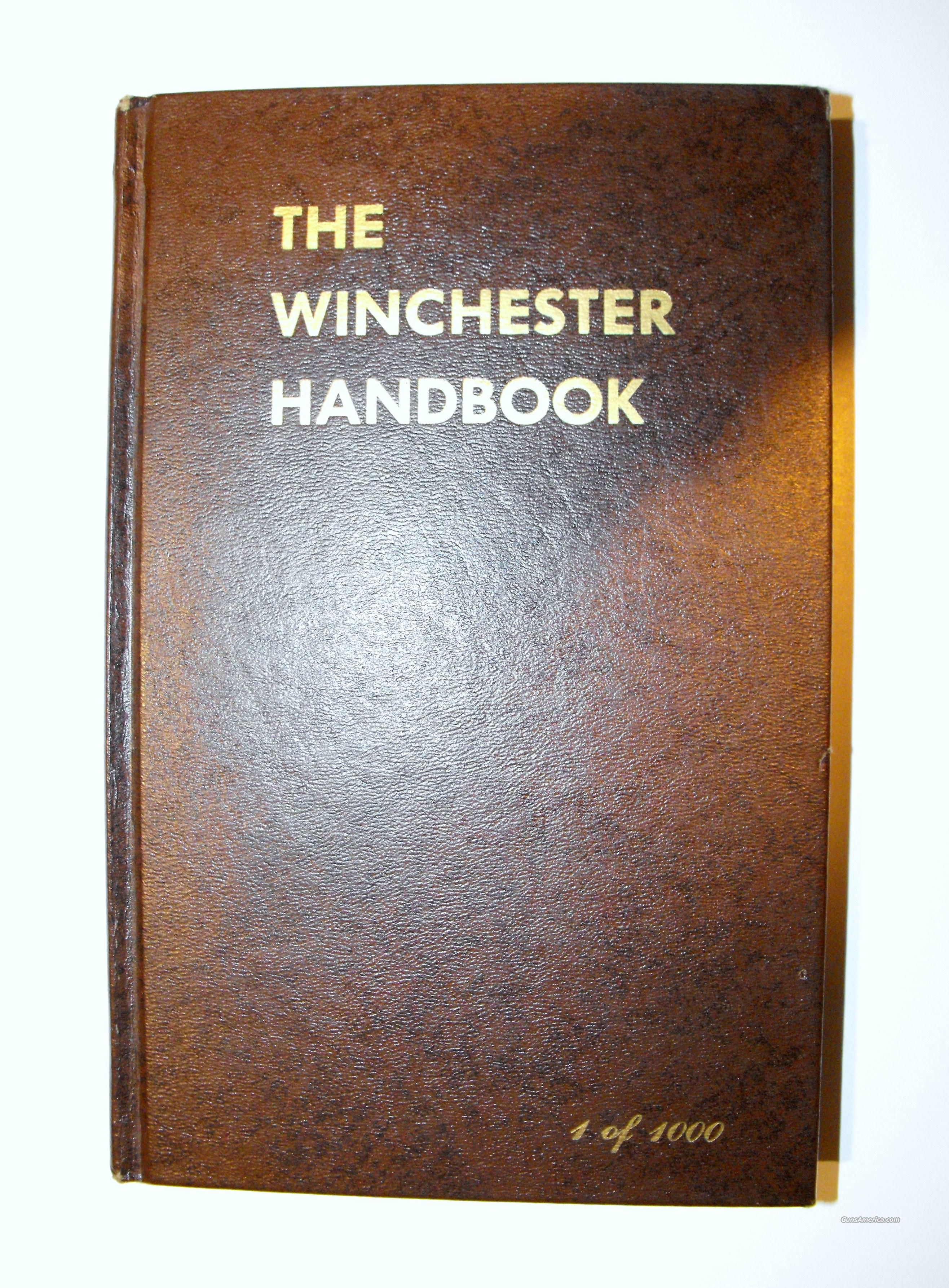 The Winchester Handbook  Non-Guns > Books & Magazines