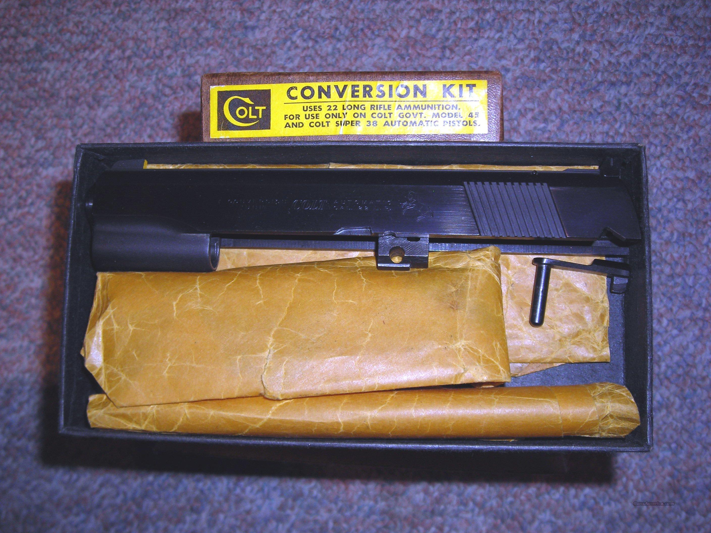 Colt .22 Conversion Unit  Non-Guns > Barrels