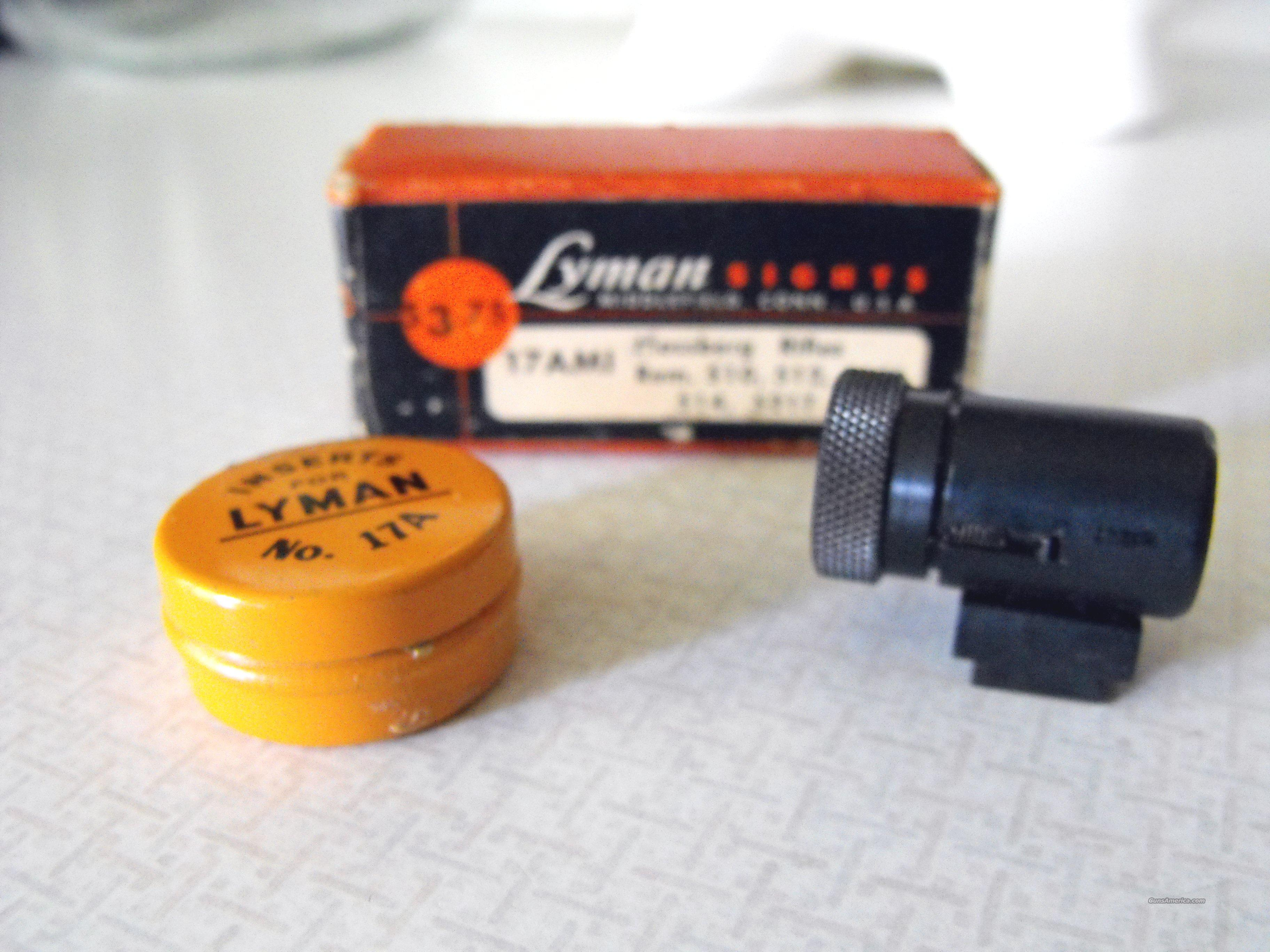 Lyman Front Sight  Non-Guns > Iron/Metal/Peep Sights
