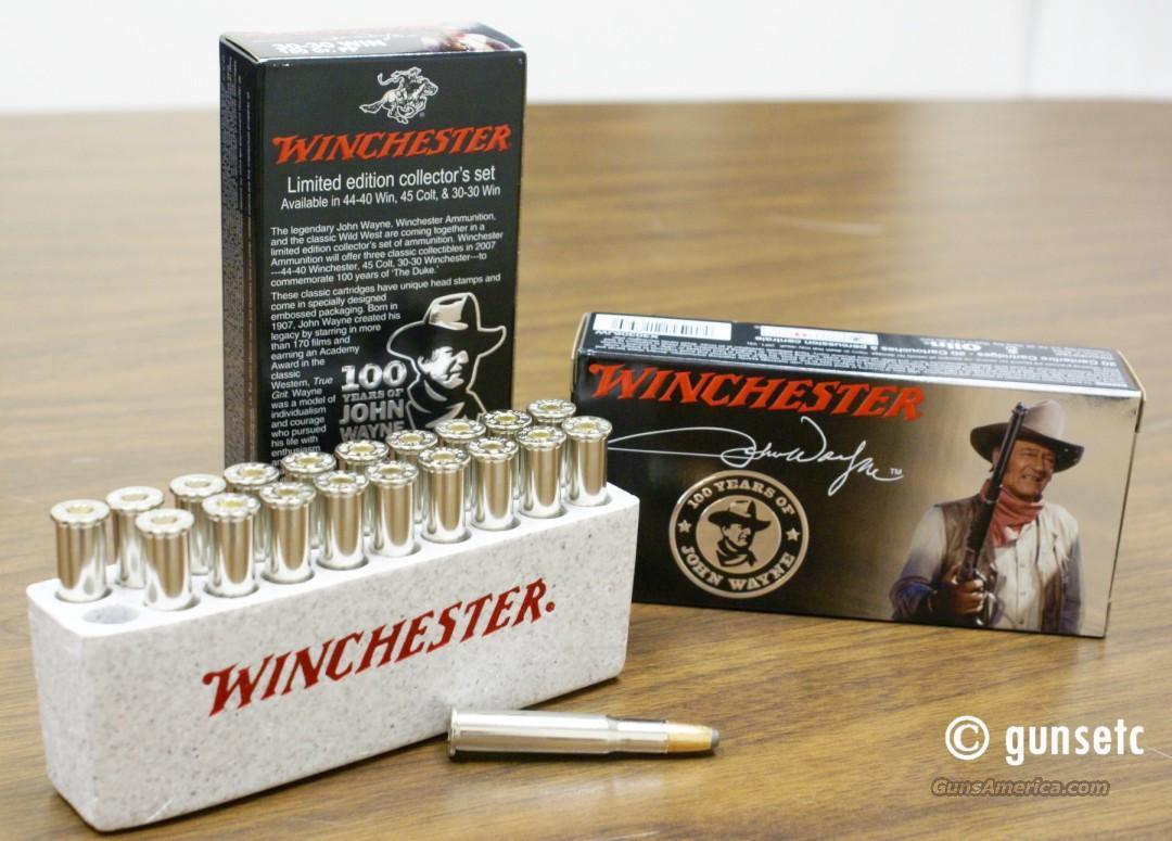 Winchester John Wayne Commemorative Ammo 30 30 For Sale