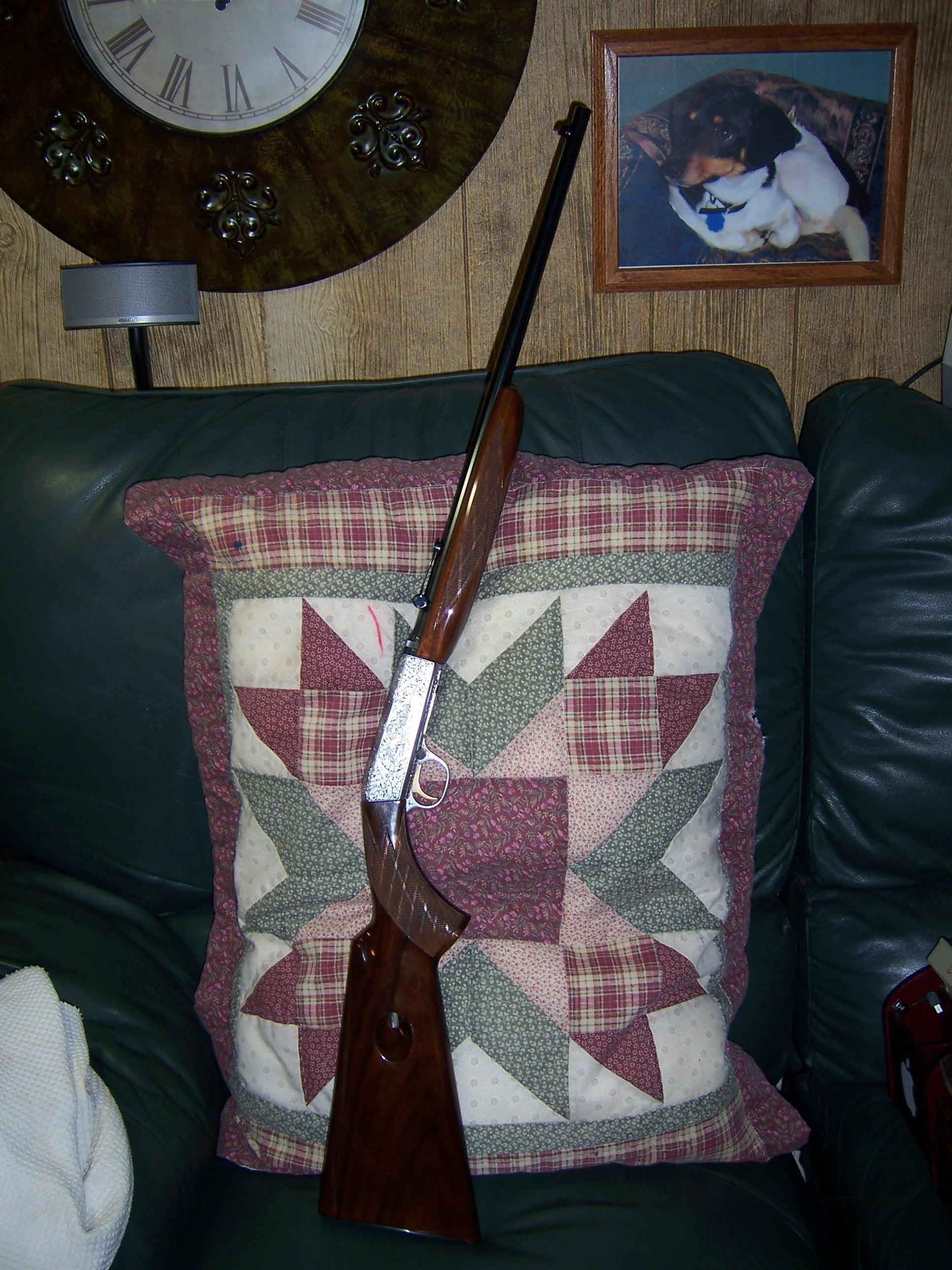 BROWNING  22 CALIBER GR. III MADE IN 1958  Guns > Rifles > Browning Rifles > Semi Auto > Hunting