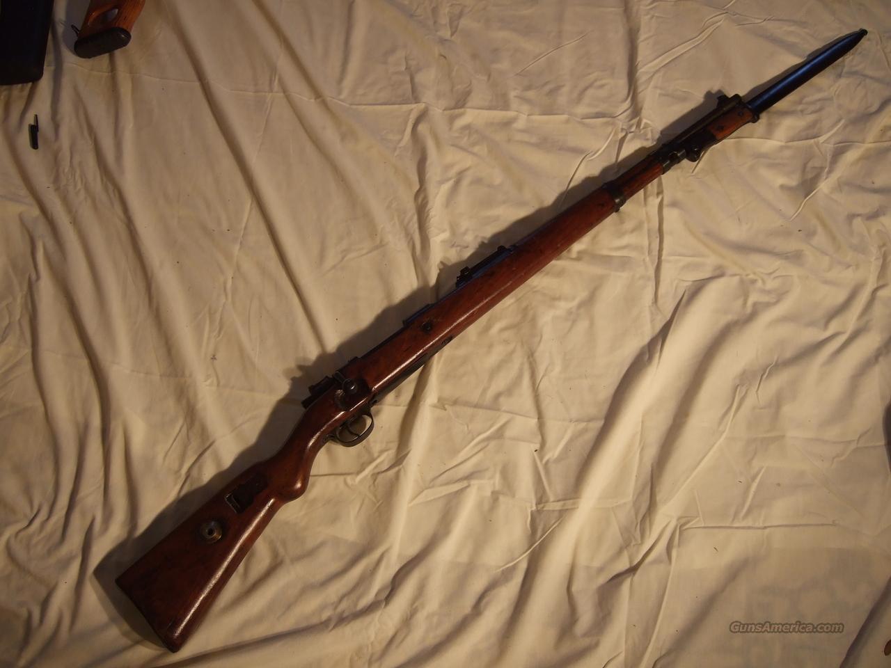 German Model 98 Mauser  Guns > Rifles > Mauser Rifles > German