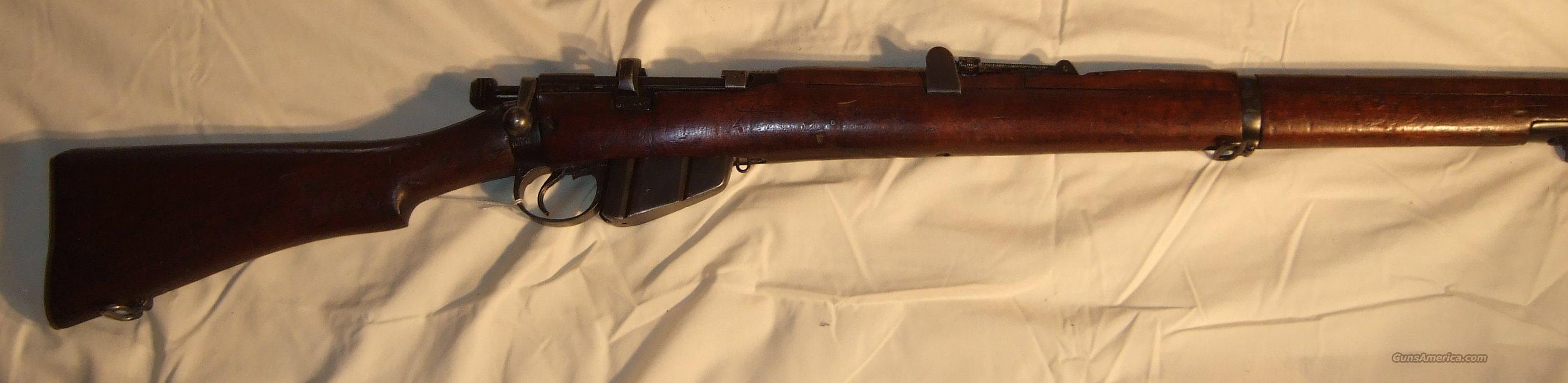 Enfield SMLE No. 1 Mk III  Guns > Rifles > Enfield Rifle