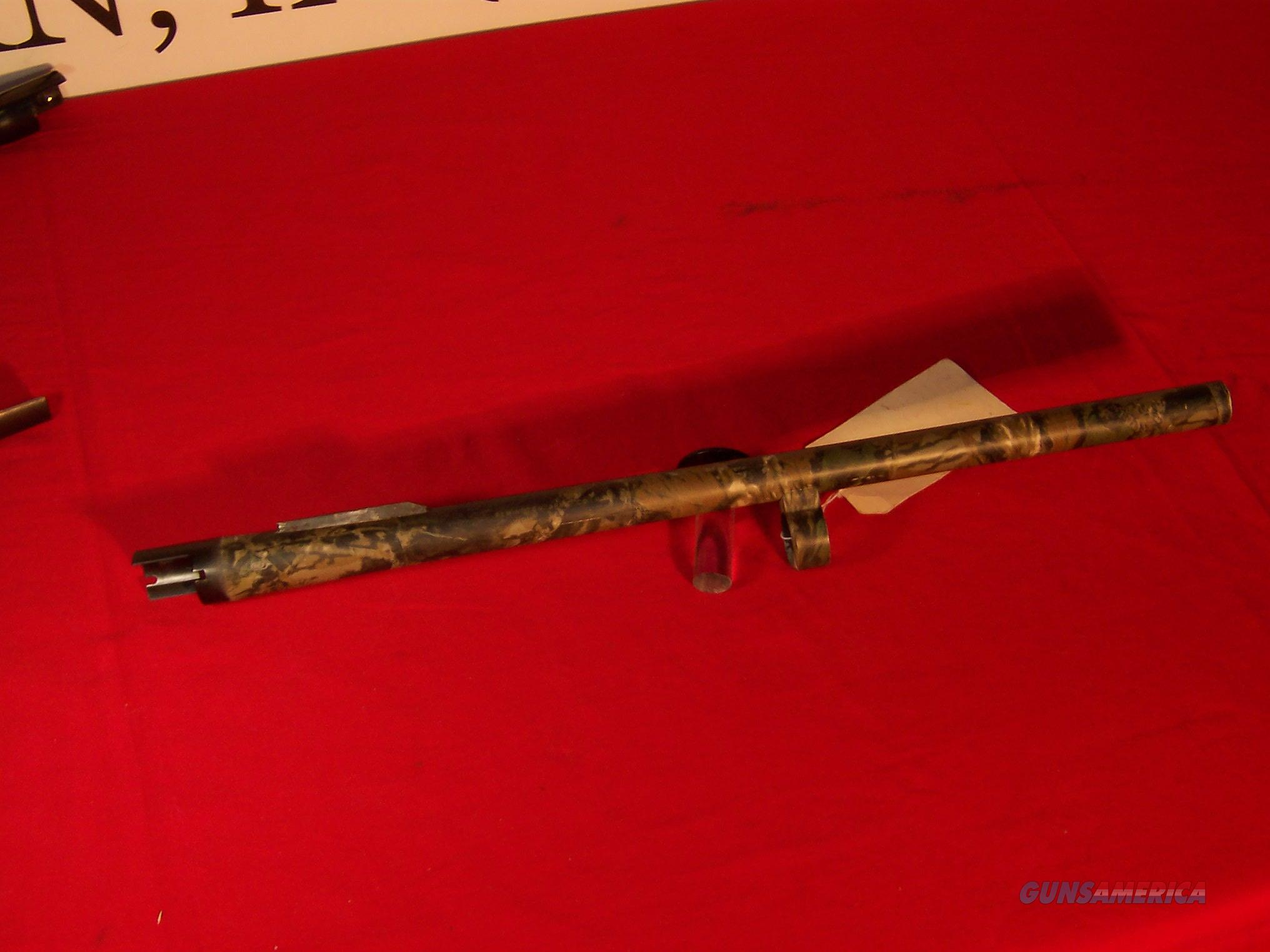 "Remington 870 12 Gauge Camo'd 20"" Rifled Slug Barrel  Non-Guns > Barrels"