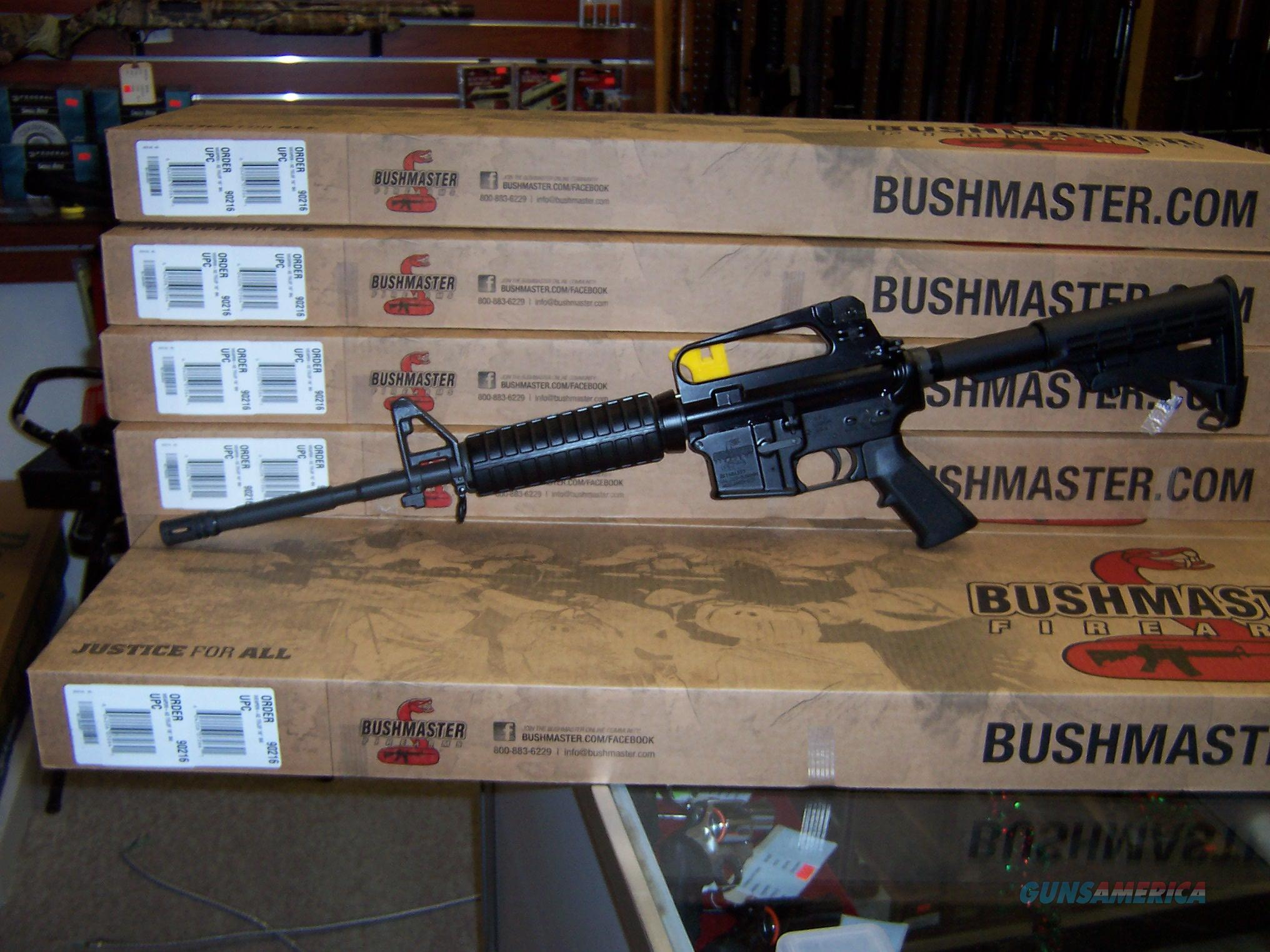 "BUSHMASTER M4A2 CARBINE .223 16"" BARREL 30-SHOT BLACK NIB  Guns > Rifles > Bushmaster Rifles > Complete Rifles"