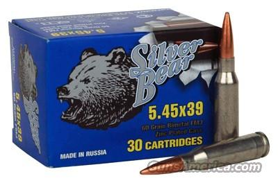 Silver Bear 5.45 x 39 60GR. FMJ 750 ROUND CASE  Non-Guns > Ammunition