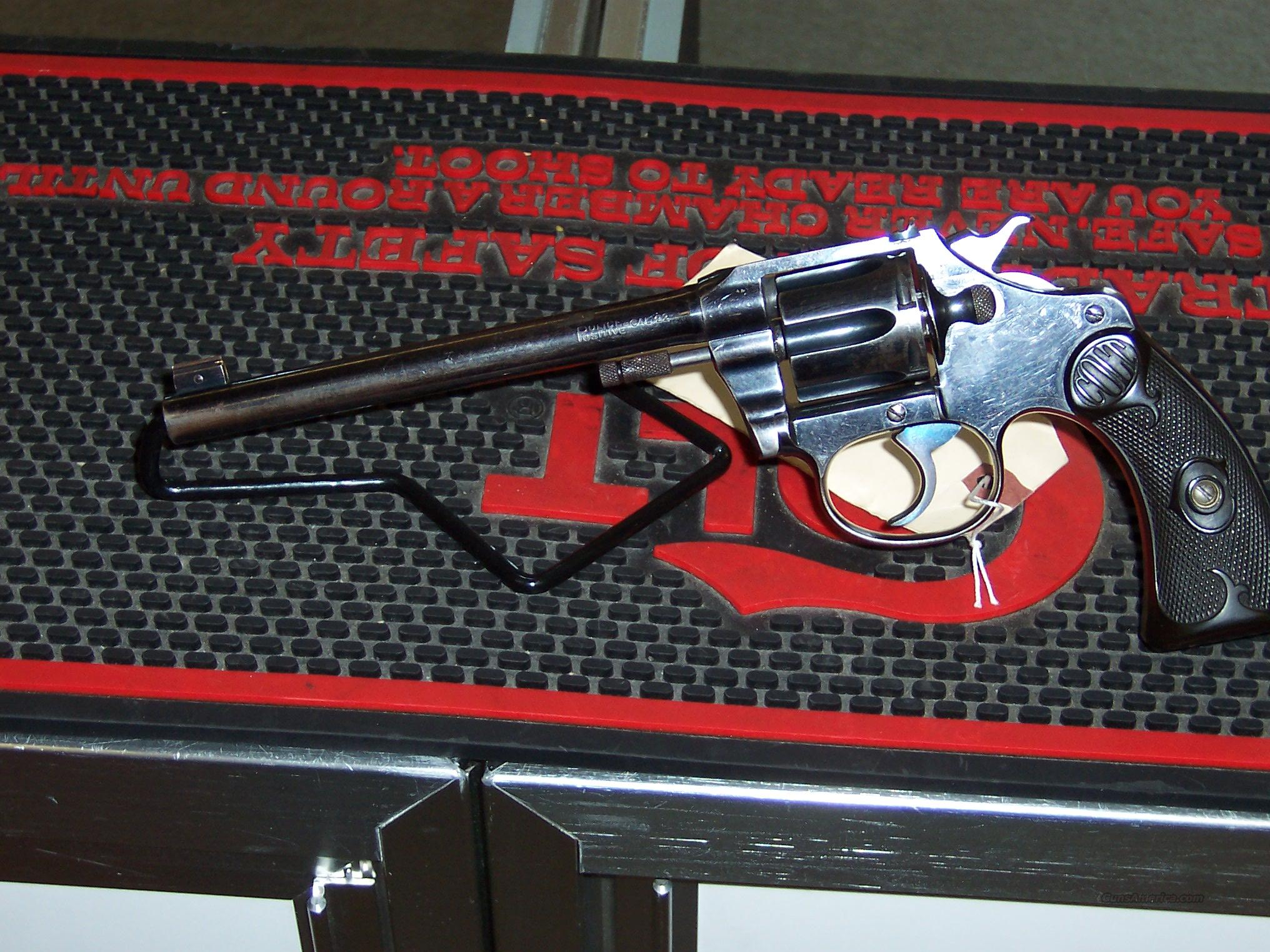 Colt Police Positive Target 22Cal  Guns > Pistols > Colt Single Action Revolvers - 2nd Gen.