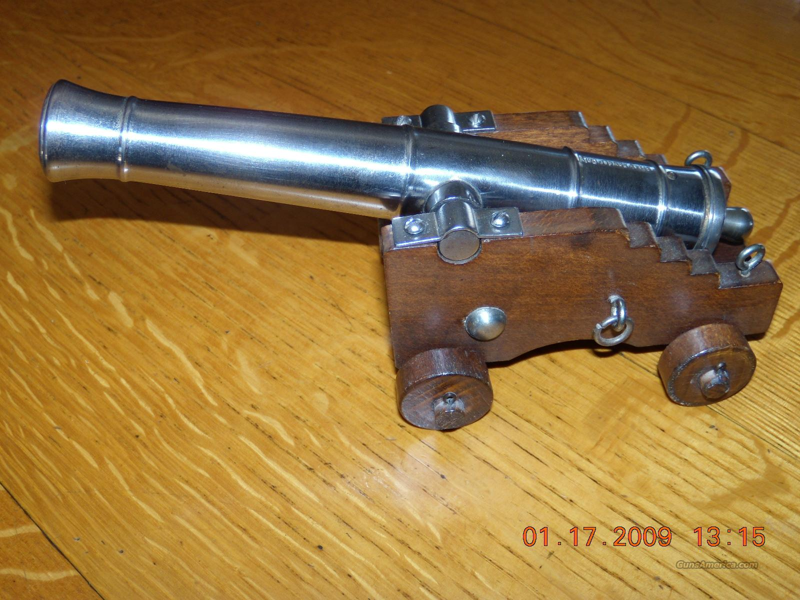 Jukar Spain .45 cal. black powder cannon  Non-Guns > Black Powder Muzzleloading