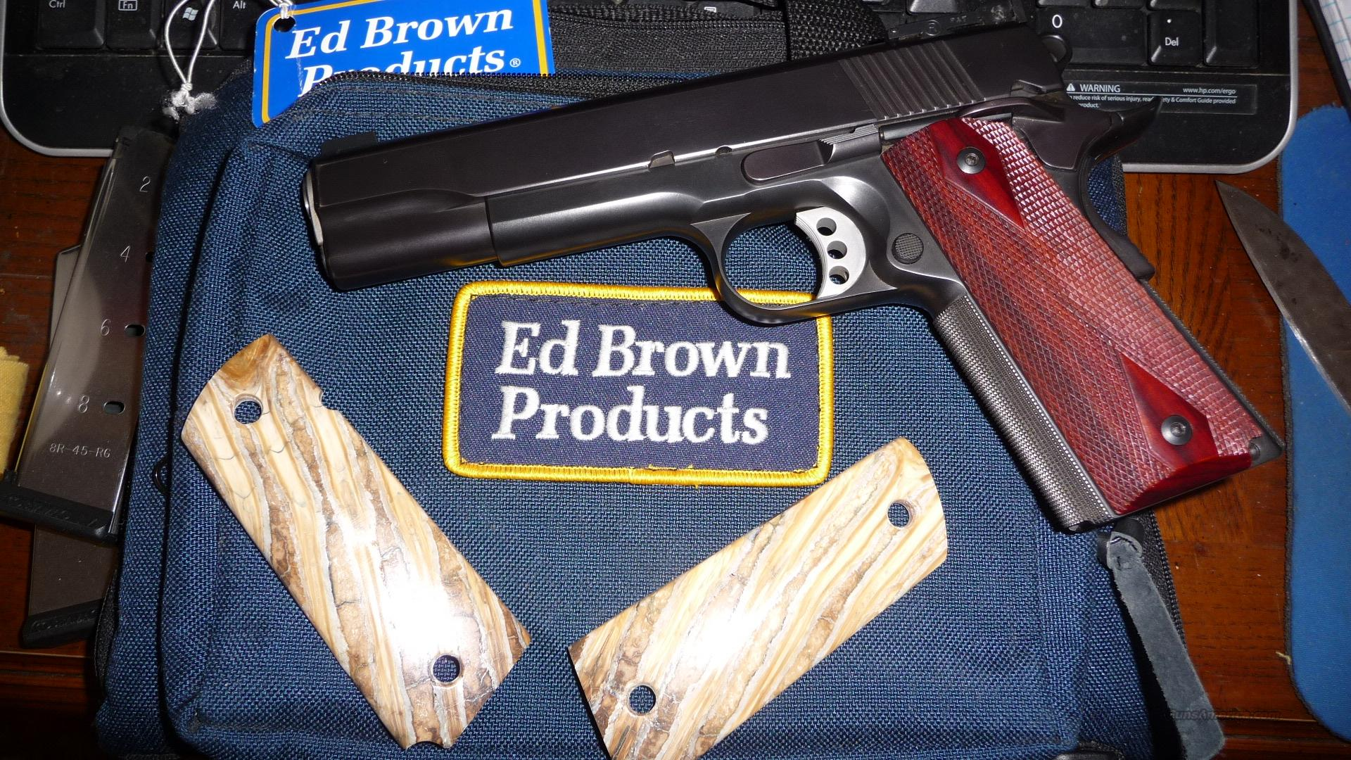Ed Brown Executive Target .45 CA Model  Guns > Pistols > Ed Brown Pistols